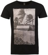 Protest T-shirt Heren PARADISE True BlackS