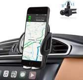 Universele Telefoon Houder voor in de Auto voor in ventilatierooster – 360 graden draaibaar - Zwart