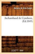 Archambaud de Comborn, (�d.1845)
