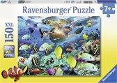 Ravensburger puzzel Onderwaterparadijs - Legpuzzel - 150 stukjes