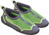 BECO waterschoenen - mesh - grijs/groen - maat 38