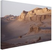 De Kaluts woestijn Canvas 80x60 cm - Foto print op Canvas schilderij (Wanddecoratie)