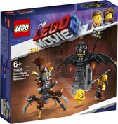 LEGO The Movie 2 Gevechtsklare Batman en Metaalbaard - 70836