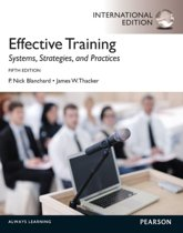 Effective Training: International Edition