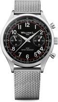 William L. 1985 WLAC01NRMM horloge heren - zilver - edelstaal