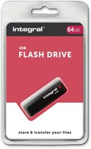Integral Black - USB-stick - 64 GB