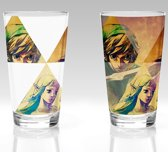 THE LEGEND OF ZELDA - Hyrule Colour Change Glass / Kleur Veranderend Glas