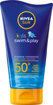 NIVEA SUN Kids Swim & Play Zonnemelk SPF50+ 150 ml