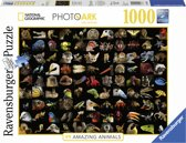 Ravensburger puzzel 99 Prachtige dieren - legpuzzel - 1000 stukjes