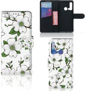 Huawei P20 Lite (2019) Hoesje Dogwood Flowers
