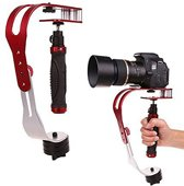 Steadycam Action Camera & Smartphone Stabilizer - Handheld iPhone / GoPro / DSLR Cam Stabilisator - tot 1,5 kg