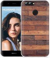 Huawei Nova 2 Hoesje Houten planken