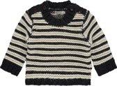 Imps&elfs Trui - Swan white knit stripe - Maat 92