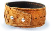 Aqualeather Orange Brown Medium 3,5cm