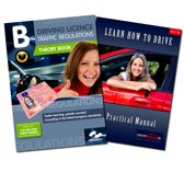CBR theory book driving license + Practical book