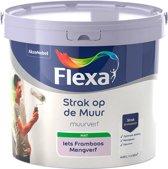 Flexa - Strak op de muur - Muurverf - Mengcollectie - Iets Framboos - 5 Liter