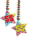 Hangdecoratie Birthday Blocks 55 /2