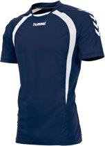 Hummel Team KM - Voetbalshirt - Mannen - Maat M - Blauw donker