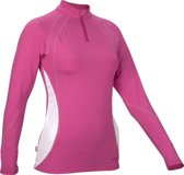 Avento Sportshirt Lange Mouw Dames Roze Maat 42