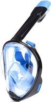 Atlantis 1.0 Full Face - Snorkelmasker - L/XL - Zwart/Blauw