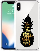 Apple iPhone X Hoesje Big Pineapple
