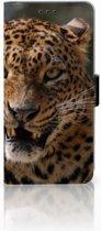 Huawei Mate 20 Lite Uniek Boekhoesje Luipaard