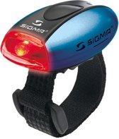 Sigma Micro - Verlichtingsset - LED - Batterij - Zwart/Blauw/ Rood