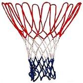Basketbal-ring-Netje rood/wit/blauw nylon