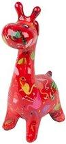 Pomme Pidou brilhouder giraffe Patsy - Uitvoering - Rood met flamingo's