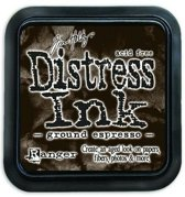 Ranger Distress Inks pad - ground expresso