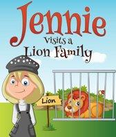 Jennie Visits a Lion Family