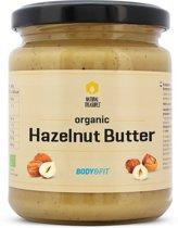 Body & Fit Biologische Hazelnootpasta - Zonder toevoegingen - 170 gram