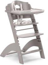 Childwood Meegroeistoel Lambda Chair met eetblad - grijs