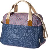 Basil Boheme Carry All Bag Enkele Fietstas - 18 Liter- Indigo Blue