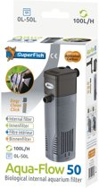 SuperFish AquaFlow Dual Action 50 - Aquariumfilter - 100 L/H