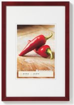 Peppers wooden frame 13x18 mahagoni