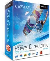 Cyberlink PowerDirector 16 Ultra - Nederlands/ Frans/ Engels - Windows