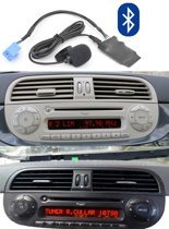 Fiat - 500 - Bluetooth - Audio - Streaming - AD2P -  Adapter - Blue And Me - 500C - Cabrio -Navigatie - Carkit - Bellen