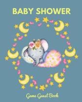 Baby Shower Guest Game Book