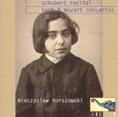 Schubert Recital. Bach Concertos