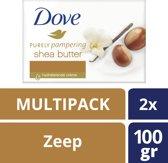 Dove Sheabutter & Vanille Zeep - 24 stuks