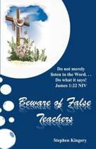 Beware of False Teachers