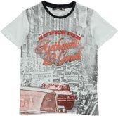 Losan Jongens Shirt Grijs met print K6 - Maat 128