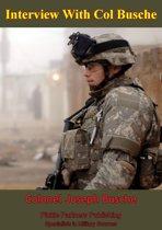 Interview with Col. Joseph Buche - 101st Airborne Division