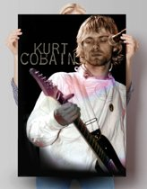 Kurt Cobain  - Poster 61 x 91.5 cm