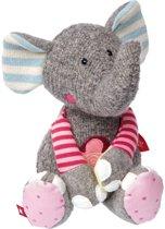 sigikid Patchwork Sweety knuffel olifant 38709