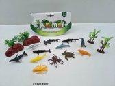 Zeedieren Met Accessoires 18 Delig