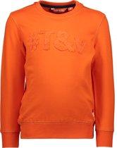 TYGO & vito Jongens Sweater - oranje - Maat 110/116