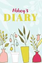Abbey's Diary