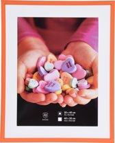 Henzo FreshColour Fotolijst - Fotomaat 40x50 cm - oranje
